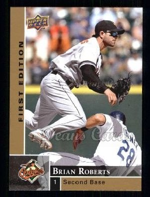 2009 Upper Deck First Edition #26  Brian Roberts
