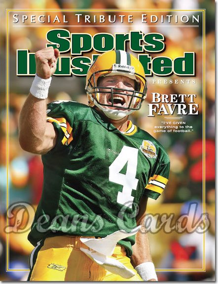 2008 Sports Illustrated   March 14  -  Brett Favre