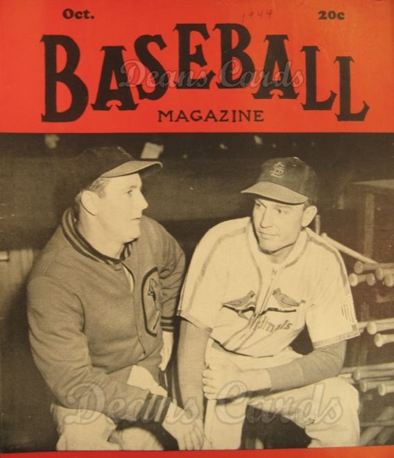 1944 Baseball Magazine    October