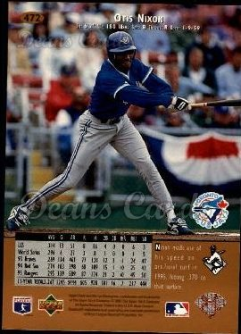 1996 Upper Deck #472  Otis Nixon