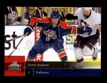 2009 Upper Deck #73  Keith Ballard