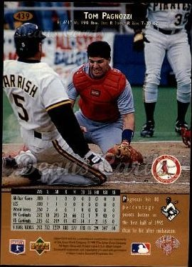 1996 Upper Deck #439  Tom Pagnozzi