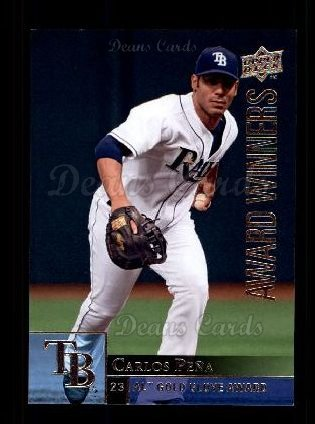 2009 Upper Deck #952   -  Carlos Pena Award Winners