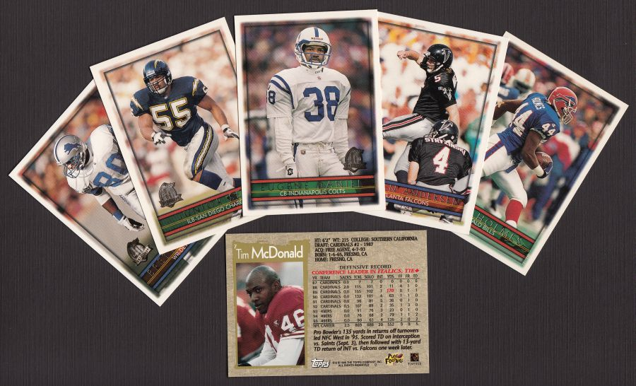 1996 Topps     Football Complete set