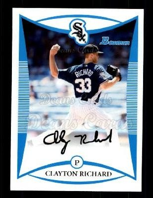 2008 Bowman Draft Prospect #102  Clayton Richard