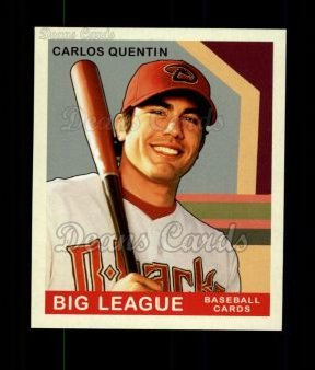 2007 Upper Deck Goudey Green Backs #185  Carlos Quentin