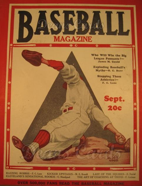 1931 Baseball Magazine    September