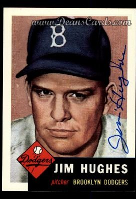 1991 Topps 1953 Archives #216  Jim Hughes