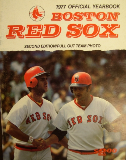 1977 Boston Red Sox Yearbook - Revised