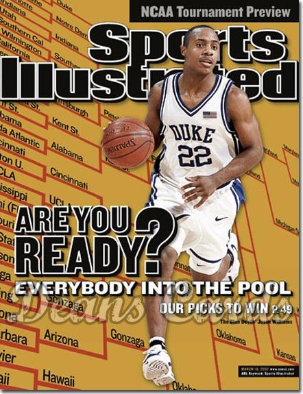 2002 Sports Illustrated   March 18  -  Luke Walton Arizona Wildcats (Regional)