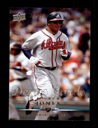 2008 Upper Deck #50  Andruw Jones