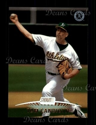 1999 Topps Stadium Club #52  Tom Candiotti