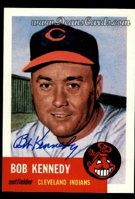 1991 Topps 1953 Archives #33  Bob Kennedy