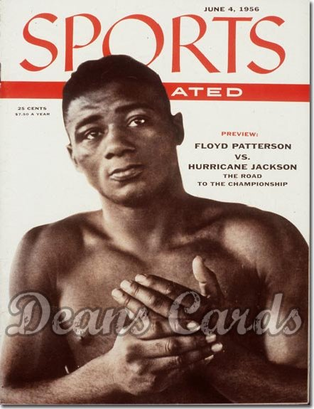 1956 Sports Illustrated - With Label   June 4  -  Floyd Patterson