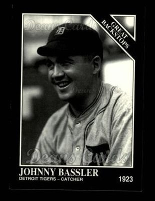 1993 Conlon #878   -  Johnny Bassler Great Backstops