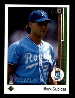 1989 Upper Deck #202  Mark Gubicza