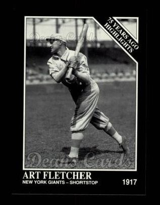 1992 Conlon #490   -  Art Fletcher 1917 Highlights