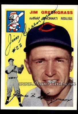 1994 Topps 1954 Archives #22  Jim Greengrass