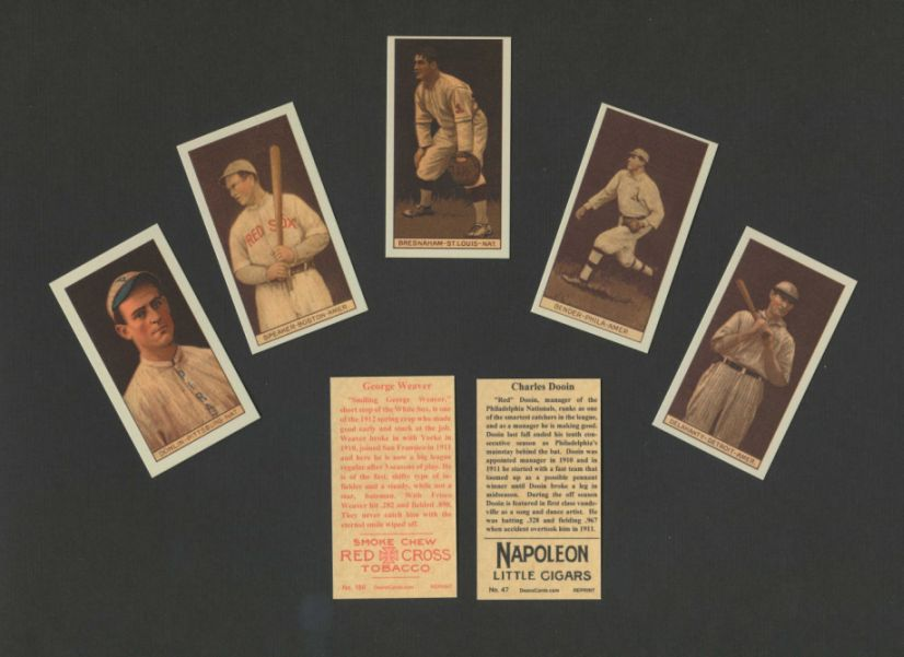 1912 T207 Reprints    T207 Brown Background Reprint Set