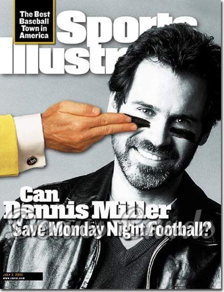 2000 Sports Illustrated - With Label   July 3  -  Dennis Miller