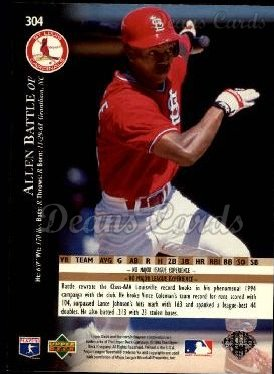 1995 Upper Deck #304  Allen Battle