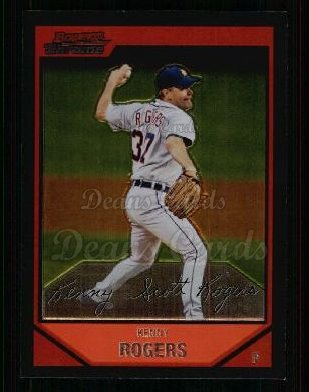 2007 Bowman Chrome #84  Kenny Rogers