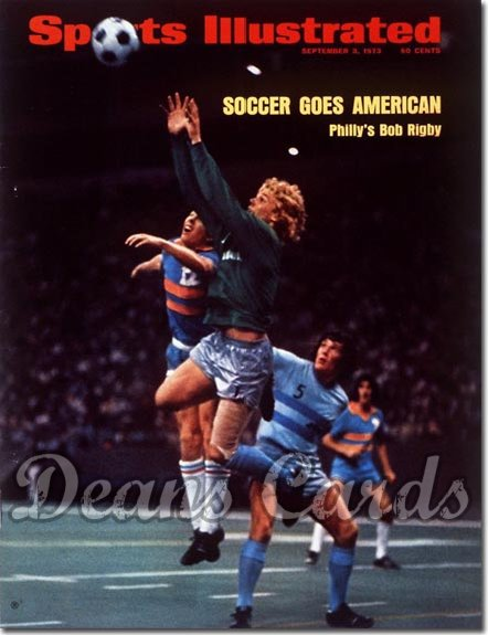 1973 Sports Illustrated - With Label   September 3  -  Bob Rigby (Soccer)