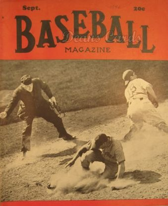1940 Baseball Magazine    September