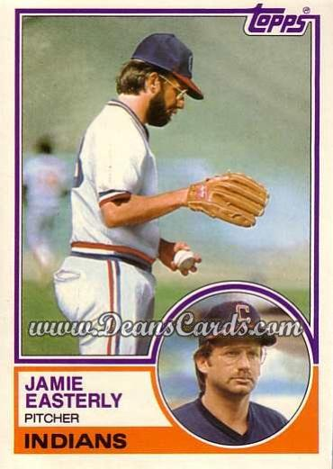 1983 Topps Traded #28 T Jamie Easterly