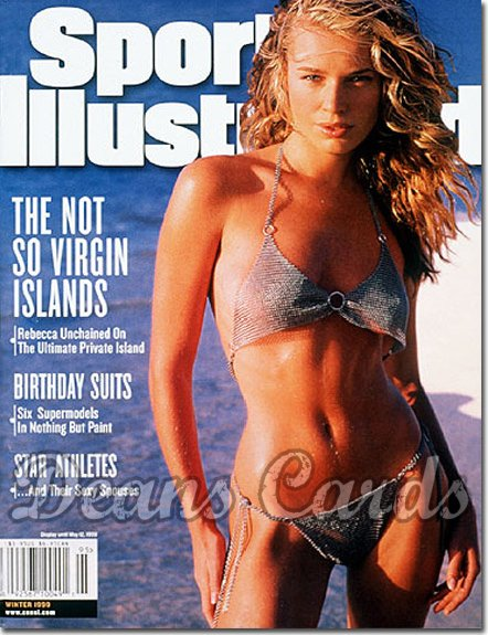 1999 Sports Illustrated - With Label   February 12  -  Rebecca Romijn Stamos Swimsuit Issue