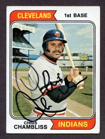 1974 Topps #384  Chris Chambliss