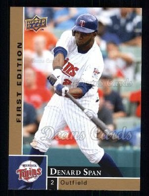 2009 Upper Deck First Edition #177  Denard Span