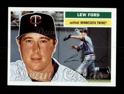 2005 Topps Heritage #184  Lew Ford