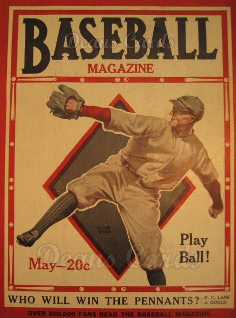 1929 Baseball Magazine    May