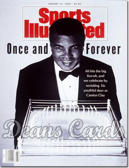 1992 Sports Illustrated - With Label   January 13  -  Muhammad Ali