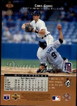 1996 Upper Deck #72  Chris Gomez