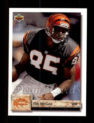 1992 Upper Deck #229  Tim McGee