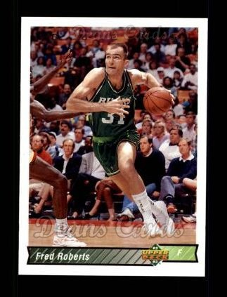 1992 Upper Deck #225  Fred Roberts