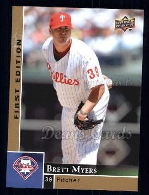 2009 Upper Deck First Edition #231  Brett Myers
