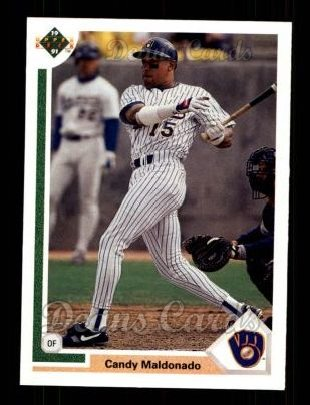 1991 Upper Deck #739  Candy Maldonado