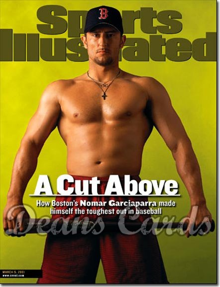 2001 Sports Illustrated   March 5  -  Nomar Garciaparra (Boston Red Sox)