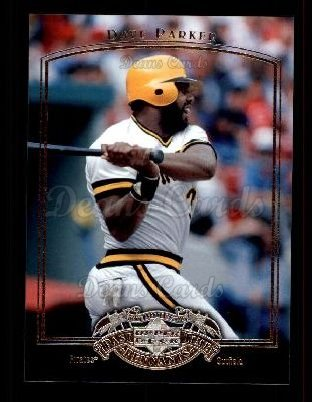 2005 Upper Deck Past Time Pennants #18  Dave Parker