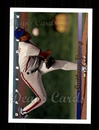 1993 Upper Deck #71  Anthony Young