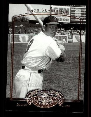 2005 Upper Deck Past Time Pennants #26  Enos Slaughter