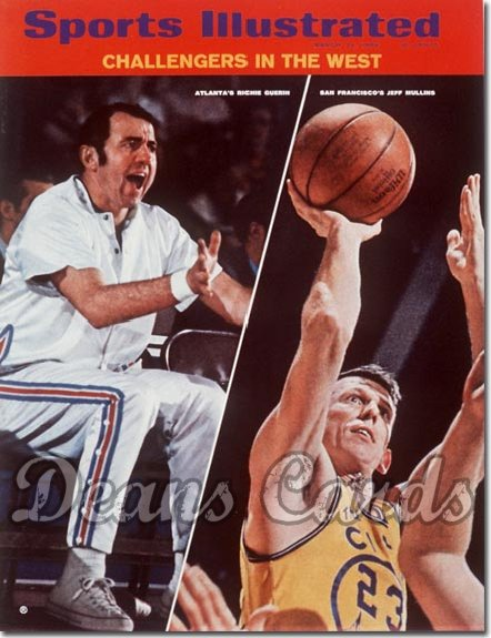 1969 Sports Illustrated   March 24  -  Richie Guerin vs Jeff Mullins Golden St Warriors vs Hawks