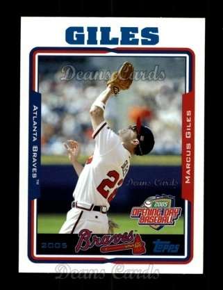 2005 Topps Opening Day #129  Marcus Giles