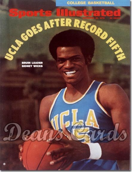 1970 Sports Illustrated - No Label   November 30  -  Sidney Wicks (UCLABruins)