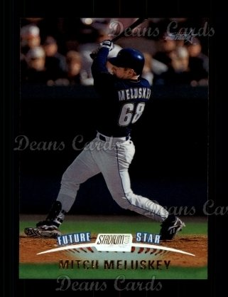 1999 Topps Stadium Club #163  Mitch Meluskey