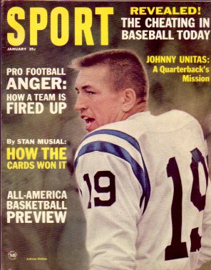 1965 Sport Magazine   -  Johnny Unitas  January