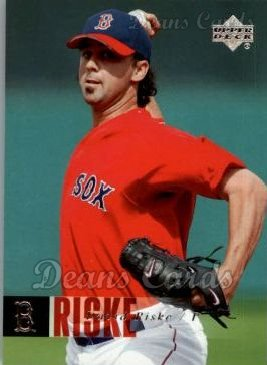 2006 Upper Deck #538  David Riske